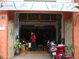 Our Yoga studio / cafe / croc-store
