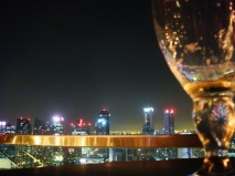 Drinks at the Sky Bar